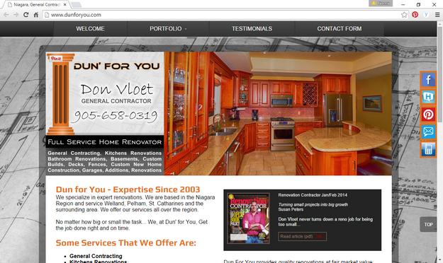 Dun for you home improvements networking niagara website solutioingenieria Choice Image