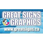 great signs and graphics